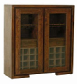 Bar glass cabinet