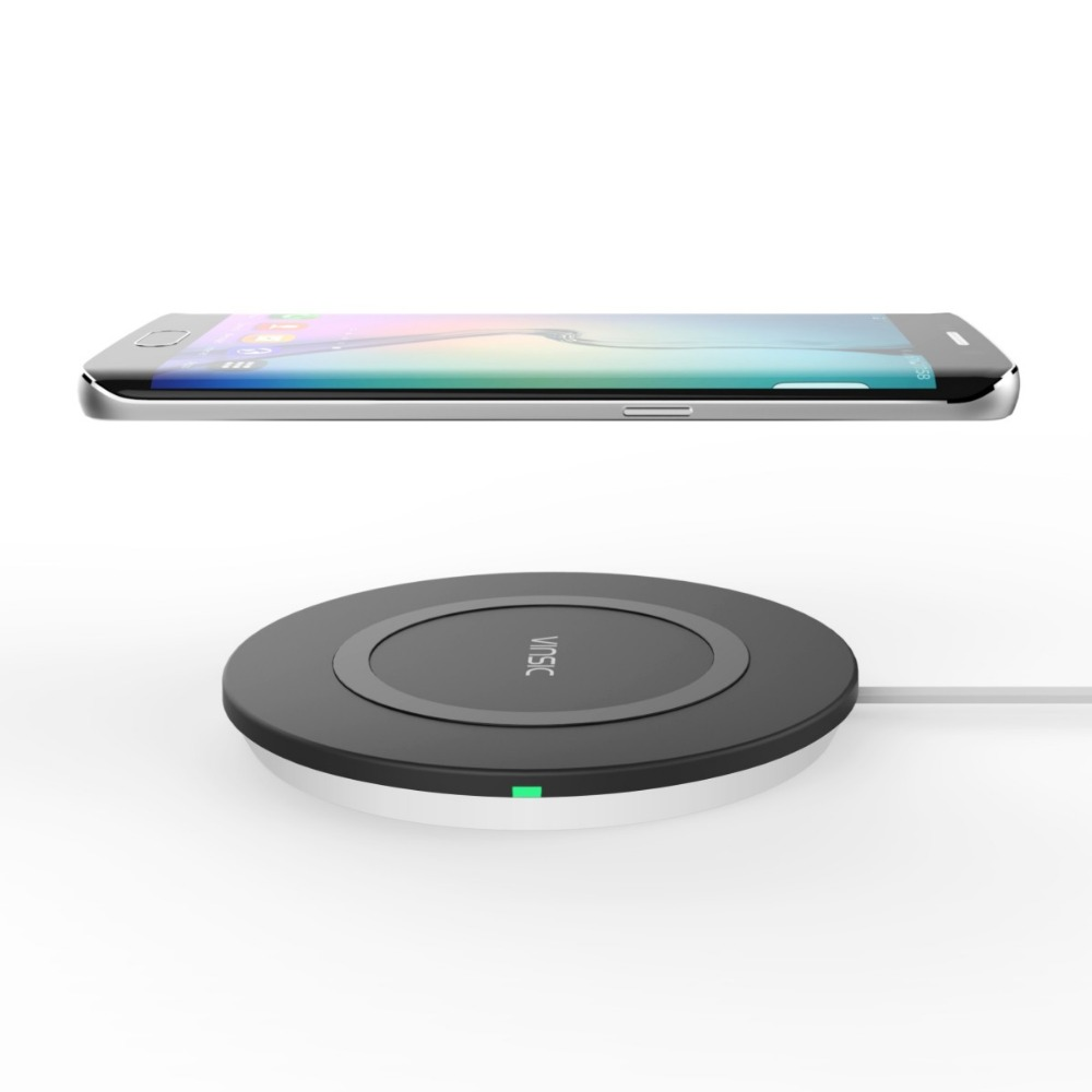 2017 Universal Qi wireless charger quick charging for all Qi-Enabled for Iphone Samsung