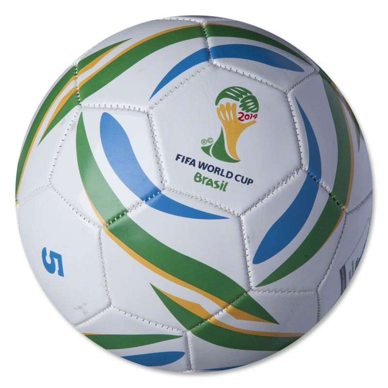 Promotional Brazuca football for worldcup 2014
