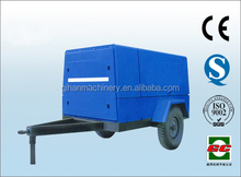Diesel air compressor 16bar screw mobile air compressor!