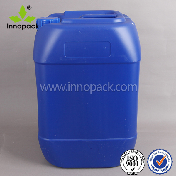 20L Jerry can DG approved plastic container solvent container with tamper proofing cap