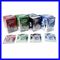 sugar free breath strips tablet candy in plastic case