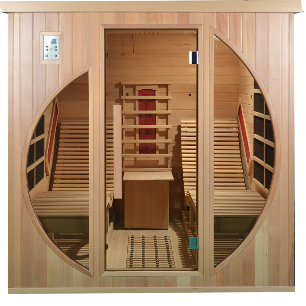Hemlock Infrared Relax Lay Down Sauna Spa Equipment