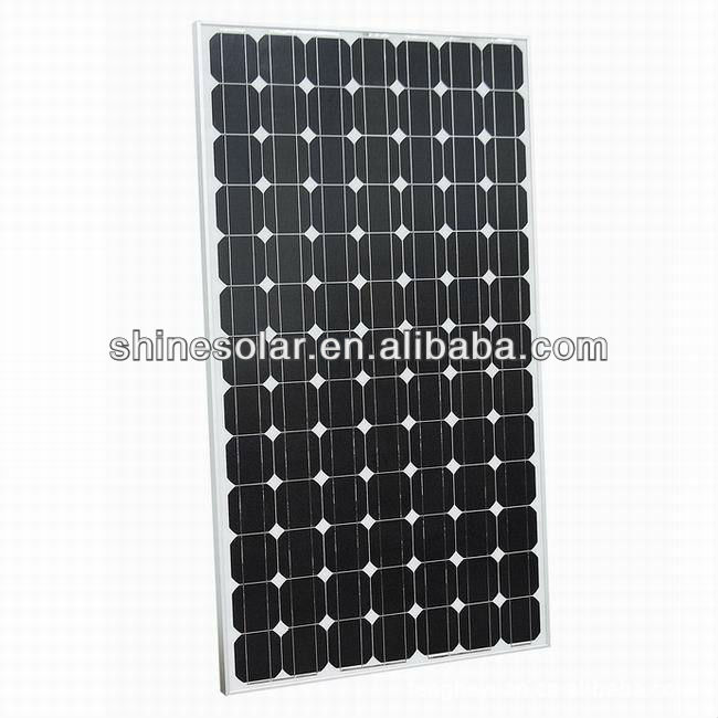 solar panel 130W for home roof grid system