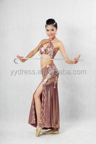 New Style Colorful Belly Dance Costume, Belly Dancing Dresses, Stage Dancing Costumes