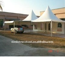 5m*5m and 6m*6m pop up car storage pagoda tent