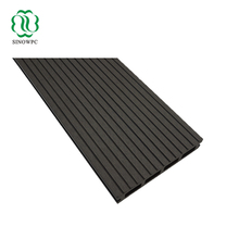 Brushed anti-slip WPC wood plastic composite decking/deck boards white/black/grey/chocolate color, passed ISO, CE, SGS