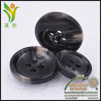D2617 high quality customize design flat back resin button