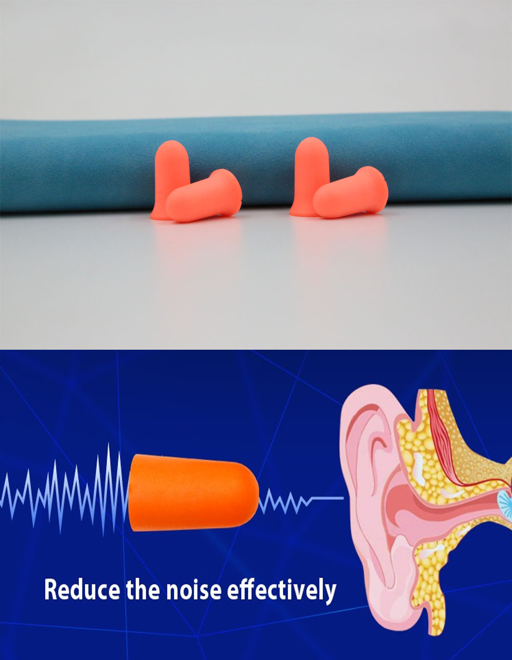 disposable pu ear plug