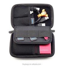 Neoprene Digital Carrying Case Bag For Mobile Phone Hard drive and Earphone Organizer Storage Bag