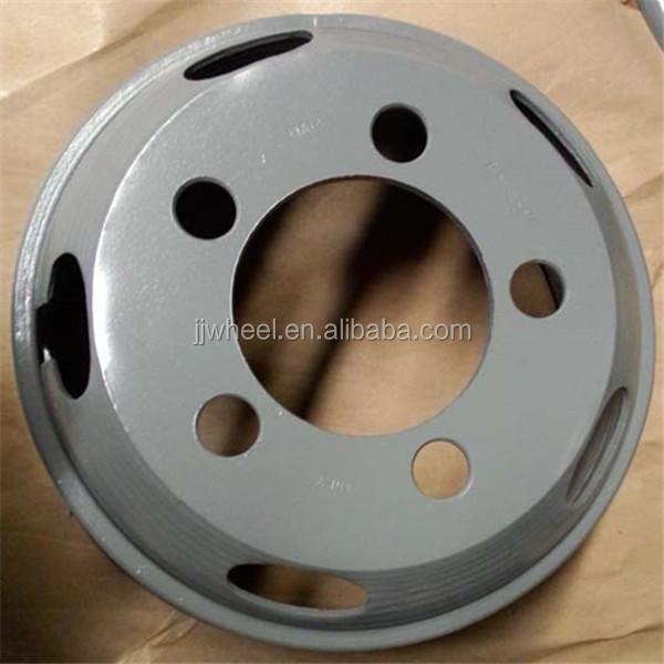 color steel car wheel rim 6.00-16