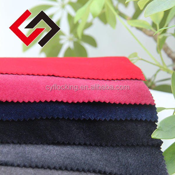 african textile fabric cashmere fabric flocking for garment