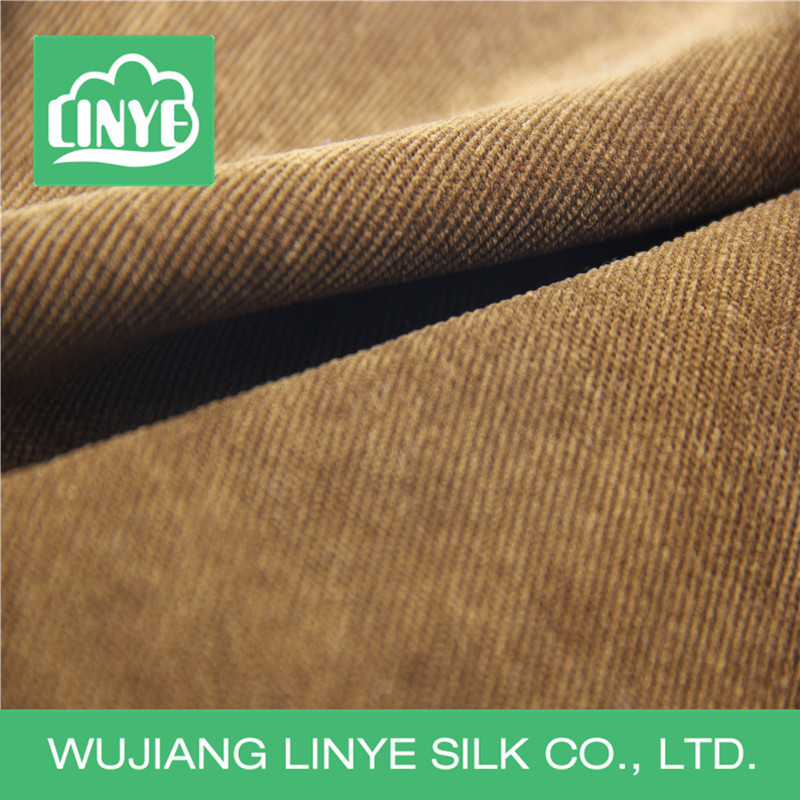 polyester elastane 21 wale corduroy fabric, resturant chair cover fabric