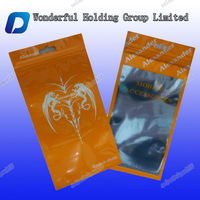 Zip lock plastic bag for USB packaging/Materials customized plastic bag