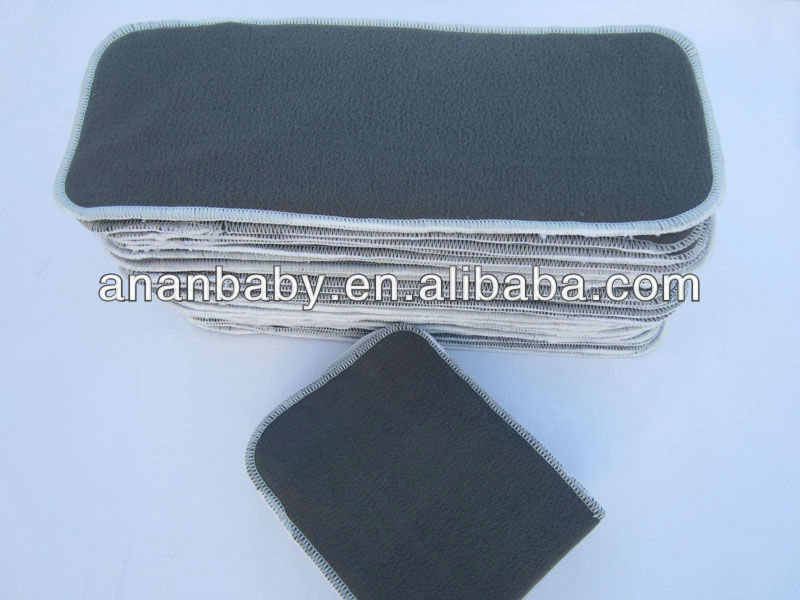 AnAnBaby 4 Layer Bamboo Charcoal Inserts 2 layer of Bamboo Charcoal 2 layer of Microfiber
