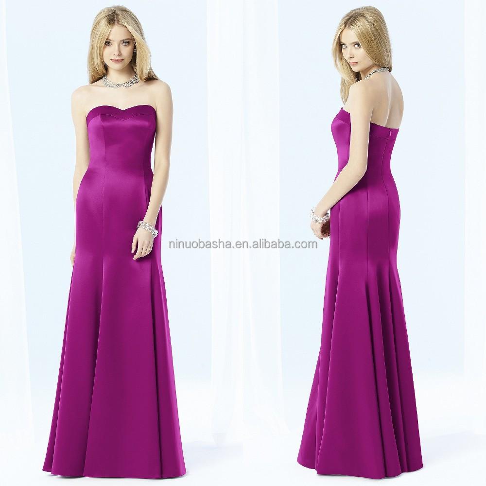 Wholesale bridesmaid dresses satin - Online Buy Best bridesmaid ...