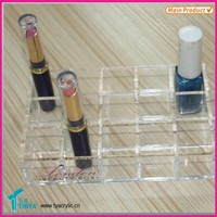 Small Business Ideas Cosmetics Wholesale Acrylic COUNTER Top Lip Gloss Stand, Lipstick Holder Lip Gloss Case