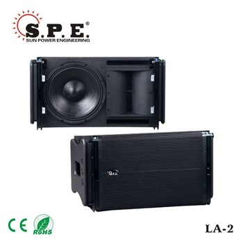 2-way line array passive speaker 12inch 350w for outdoor LA-2