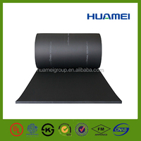 Thin rubber mat OEM promotional sound insulation PVC NBR foam sheet