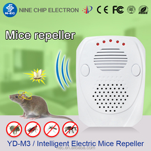 Hot sale ultrasonic mouse rat repeller bug scare electronic shok mice killer pest control
