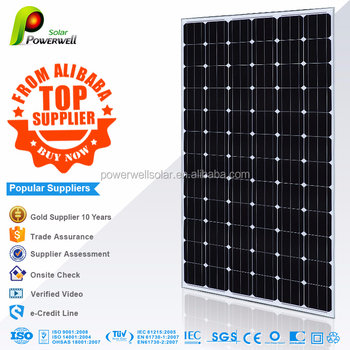 Powerwell Solar 1000 Watt Solar Panel With Ce Iec Tuv Iso