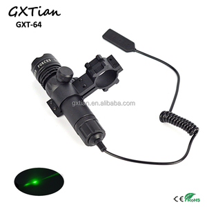 Tactical Flashlight Combo 2in1 532NM Green Laser Sight For hunting