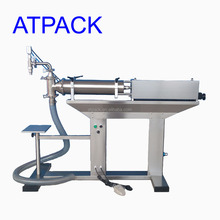 Atpack high-accuracy semi-automatic suppository filling machine with CE GMP