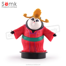 Custom design plastic pvc vinyl resin Souvenir action figurine