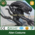 Lisaurus-R413 Chinese supplier latex scary movie costume