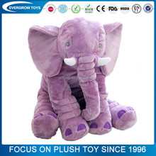 plush animal diy purple elephant plush pillow