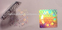 Holographic label stickers brand promotion,authentication,security