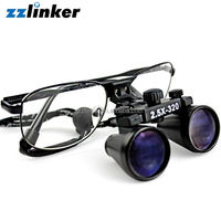 2.5/3.5 Times Colorful Dental Loupes/Dental Surgical Loupes/Dental Microscope With Light