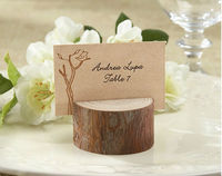 Rustic Resin Place Card/Photo Holder table decoration favors