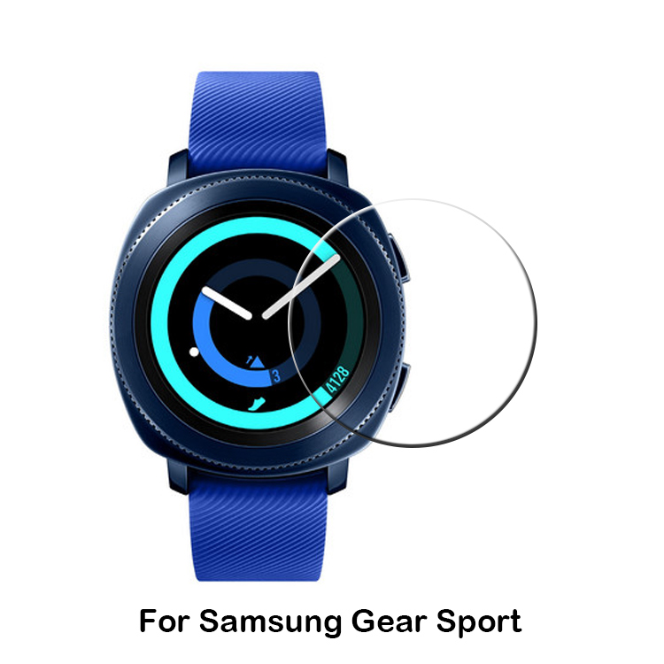 2017 New coming smart watch 0.33mm 2.5D Tempered Glass Screen Protector for Samsung Gear Sport