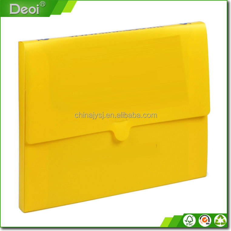 Waterproof plastic document holder file folder/box /case