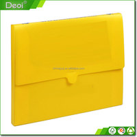 file folder/case factory price! plastic waterproof document holder file box expanding file bag