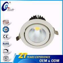20W Dimmable Round Focus Lighting Led Profile Spot Lights