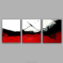 Modern abstract Birds on the tree 5 panel painting art