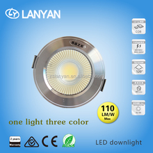 latest merchandise in lighting market OEM logo paypal payment led cob down lamp 3+3w free