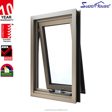 New product aluminum single hung windows for sunroom with nz standard
