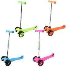 Three Wheeled Scooter 1.9kg Foldable Children Space Scooter Kids Scooter Kick