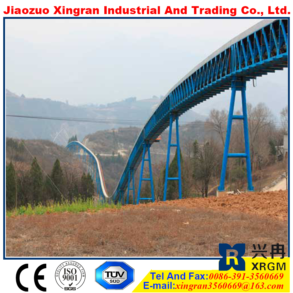high belt speed mining machinery belt conveyor cereal hot wide varieties mobile band conveyor system