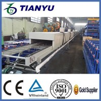 Steel Tile Type and Color stone coated roof tile roll forming machine