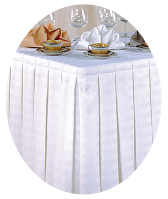 Banquet Table Skirting