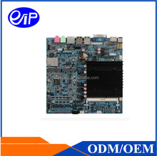Stock electronics J1900 router firewall single board computer with 1*MINI-PCIE(for WIFI) 1*MINI-SATA 1*SIM
