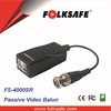 Folksafe cctv accessories manufacturer, passive video balun, Surge protection FS-4100SR