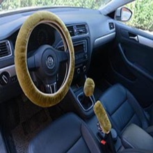 Winter warm plush wool steering wheel cover manufacturer directly supply for car and vehicle accessories wholesaler