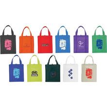 OEM Production Recyclable P-P multi color Non Woven Bag big grocery bag