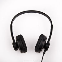High quality big sales wired headphones for mobile phone/pc/mp3/portable media players