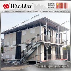 CH-LA021 20ft container office and 40ft container office design